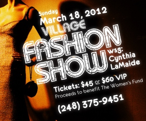 The Village of Rochester Hills Hosts Spring Fashion Show