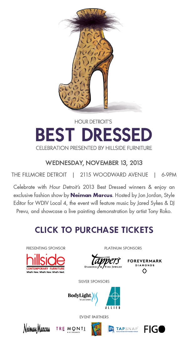 Hour Detroit's Best Dressed Celebration Brings Fashion to The Fillmore