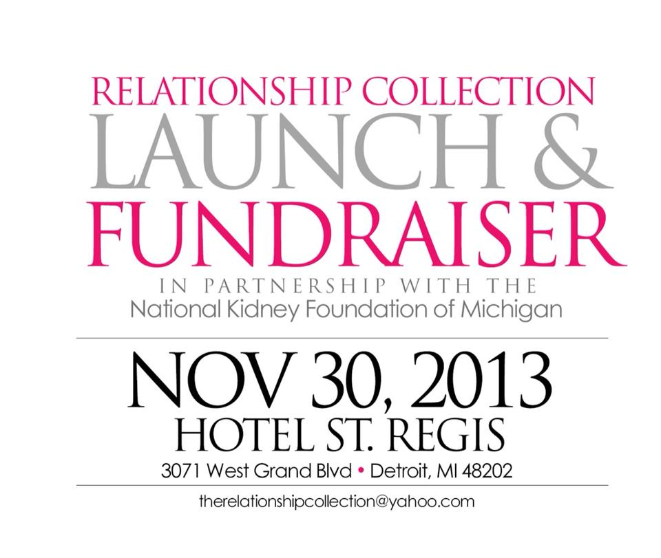 The Relationship Collection Launch & Fundraiser Detroit