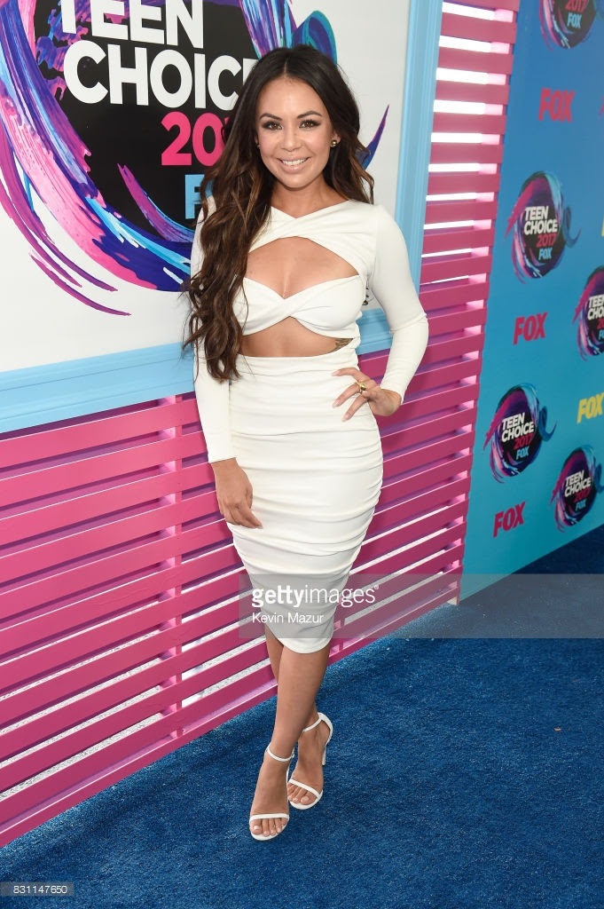 Janel Parrish Wore Hamel to the Teen Choice Awards