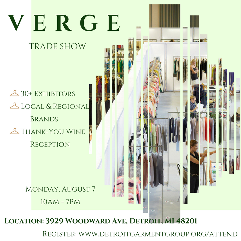 VERGE Trade Show for fashion designers in Detroit