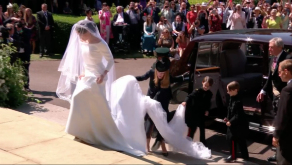 Meghan Markle Wedding Day