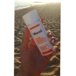 Murad environmental orange sunscreen