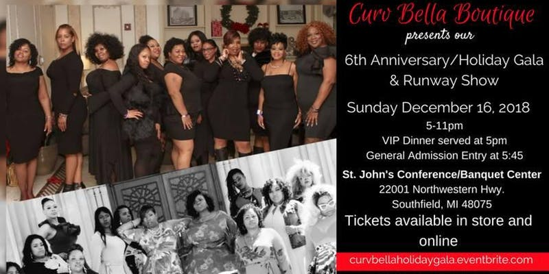 Curv Bella Holiday Gala