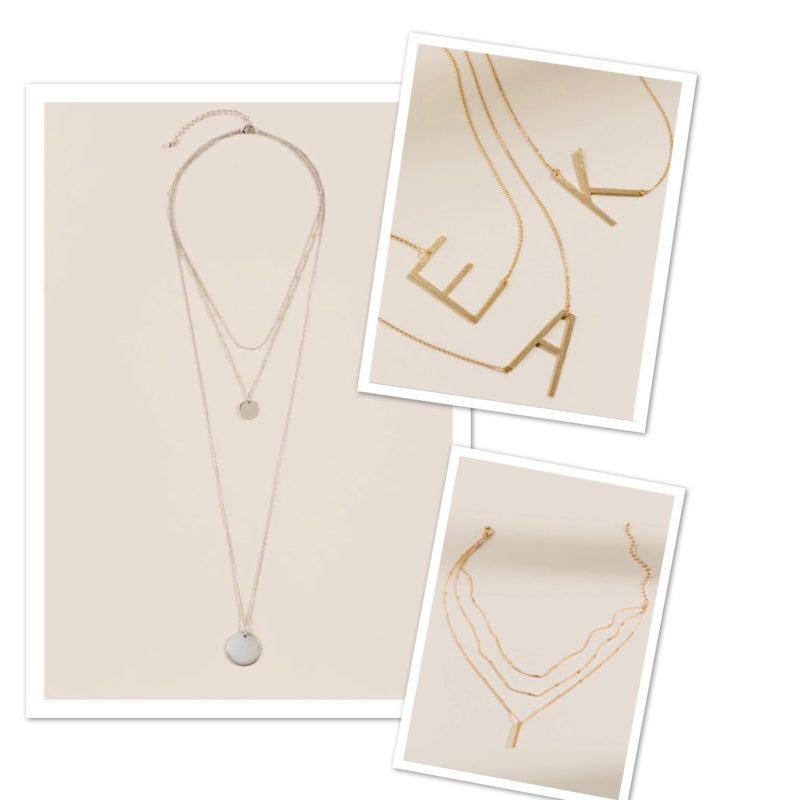 Necklaces at Francesca's