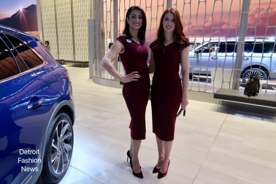 Inti Bella Wears Zac Posen and Jimmy Choo at NAIAS
