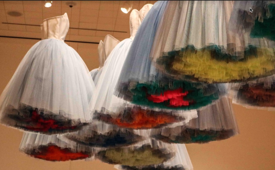 Labor of love dresses at the DIA