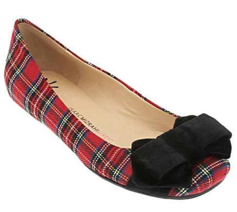 Isaac Mizrahi Tartan Shoes