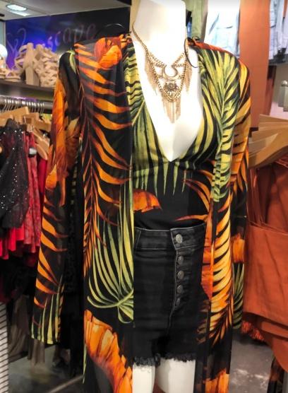 tropical vest