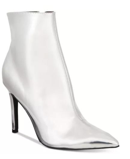 Thalia Sodie silver booties