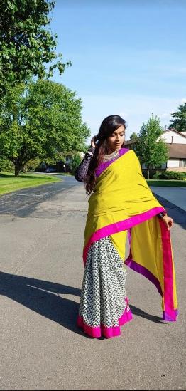 Bidisha Sinha Saree