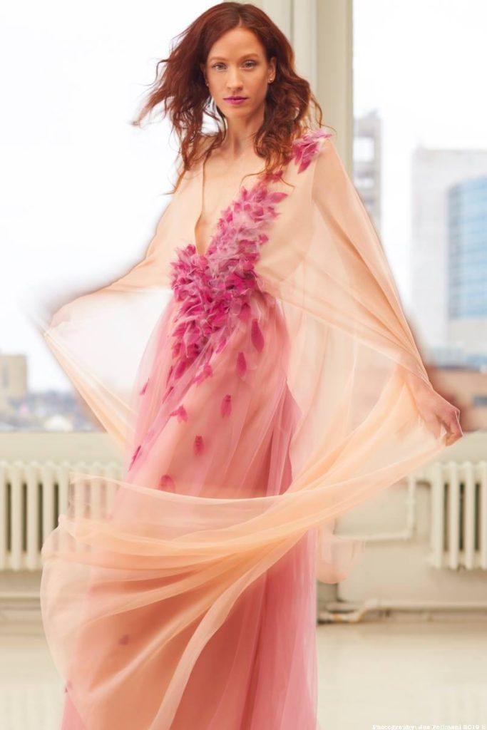 Ashley Harris Design Pink Gown