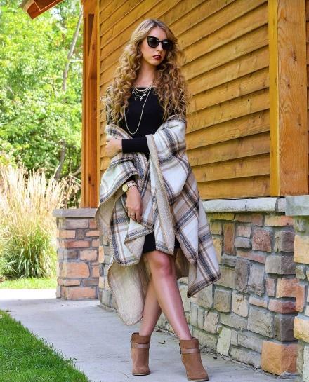 Brittany Steiber Black Dress