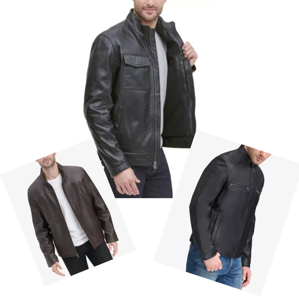 Macy's Leather coats