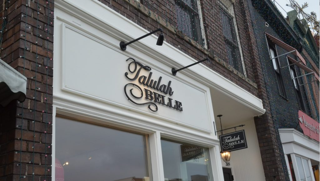 Talulah Belle Entrance