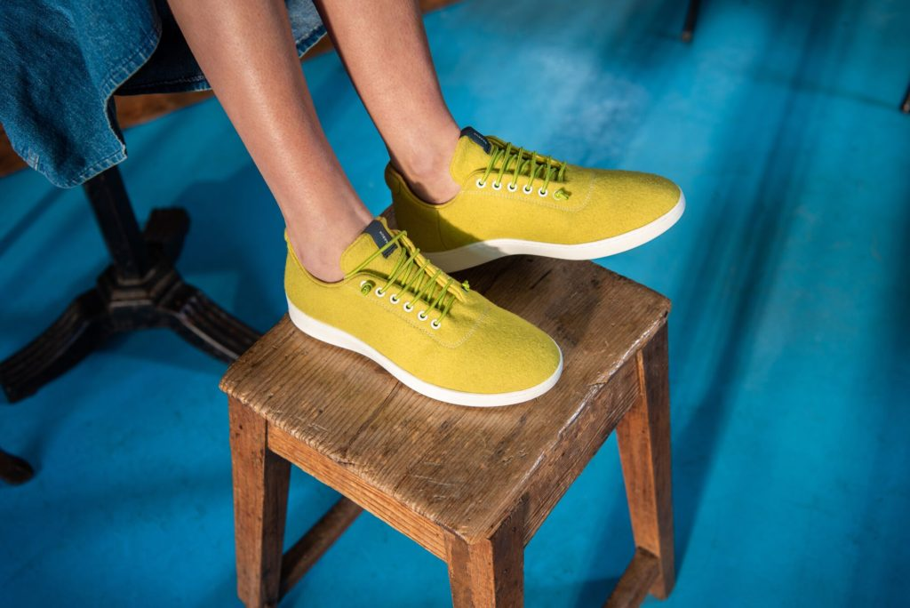 Babuuk yellow sneakers
