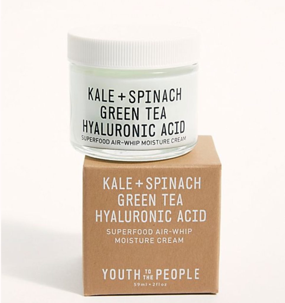 Kale and Spinach Moisturizer