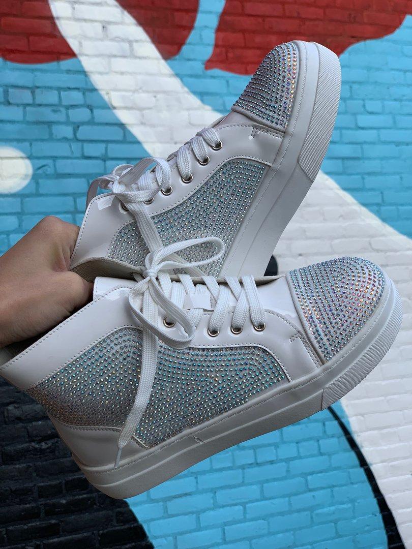 Jumpman White Patent Sneaker