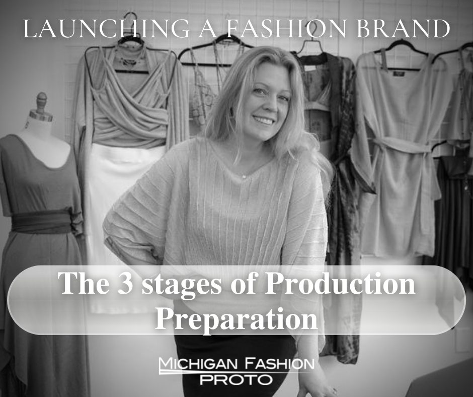 3 stages of production preparation FB