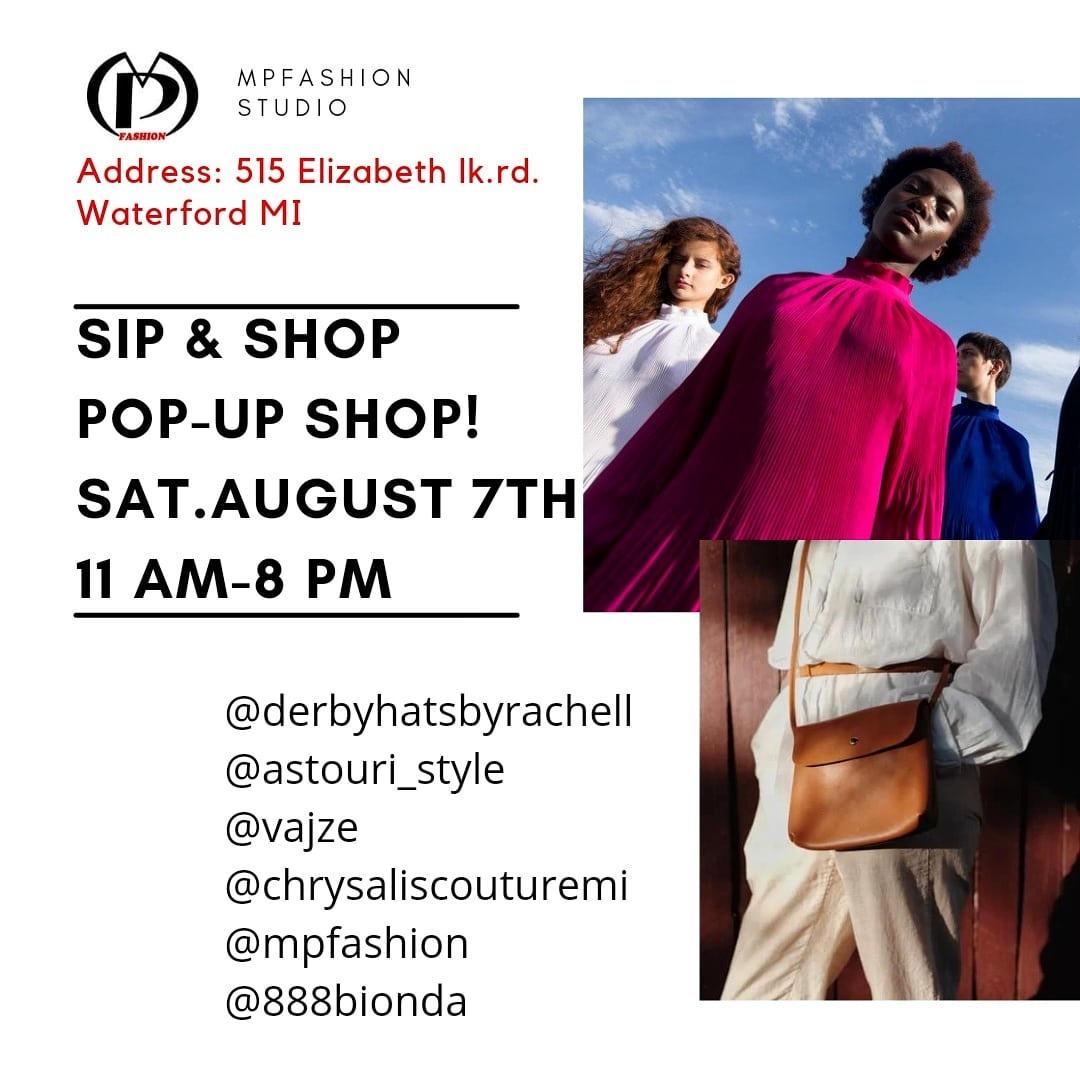 Mp Fashion Sip & Shop Event